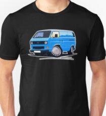 VW T25 Transporter Van Blue Unisex T-Shirt