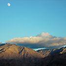 Arizona Desert Moon At 3pm... by Susan  Bergstrom