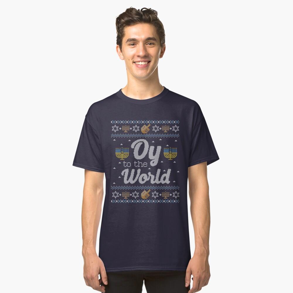 fb1dc82c0 Ugly Hanukkah Sweater, Oy to the World, Funny Jewish shirt by taraJcreative