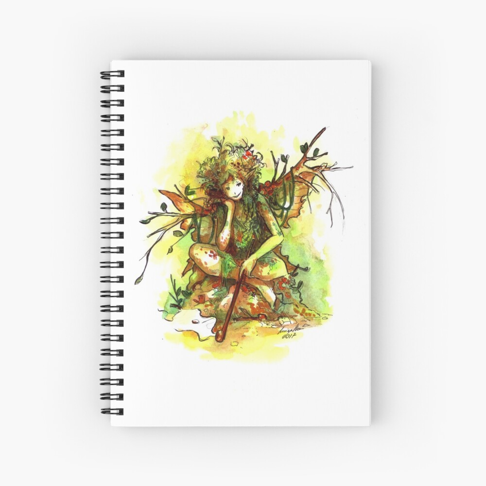 The Filthy Fairy Spiral Notebook