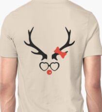 Cute and cool deer Unisex T-Shirt