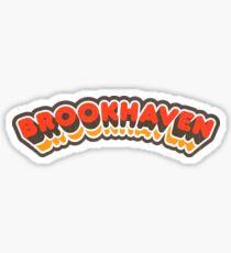 Brookhaven, GA | Retro Curve Sticker