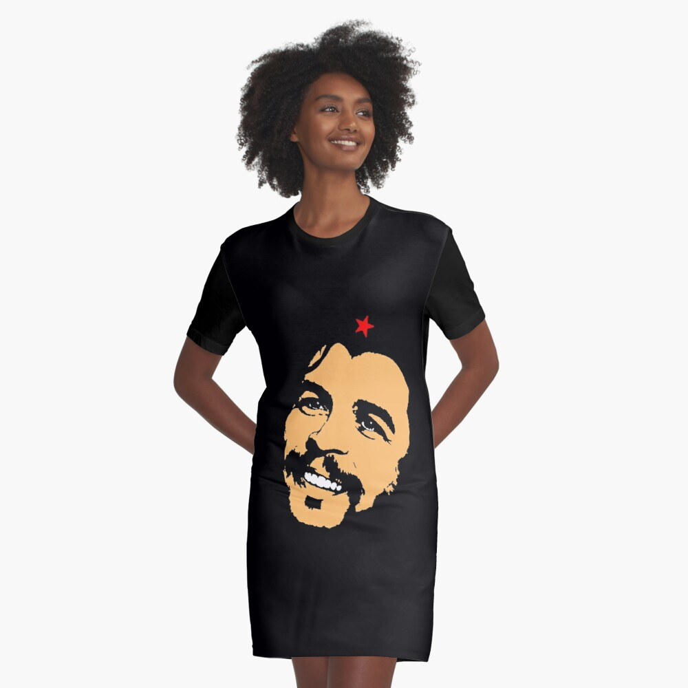 CHE GUEVARA-2 Graphic T-Shirt Dress Front