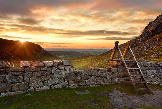 Hare's Gap Sunset by Derek Smyth