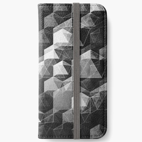 AS THE CURTAIN FALLS (MONOCHROME) iPhone Wallet