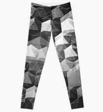 AS THE CURTAIN FALLS (MONOCHROME) Leggings
