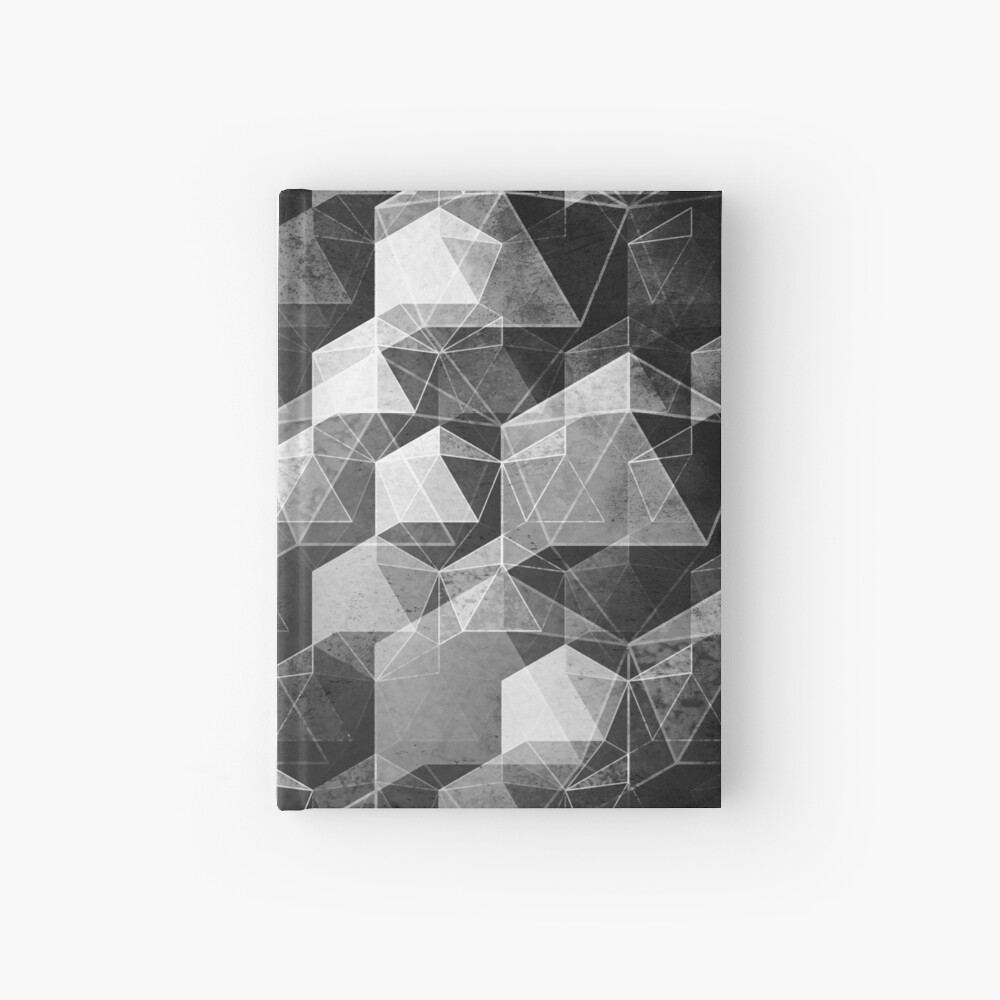 AS THE CURTAIN FALLS (MONOCHROME) Hardcover Journal
