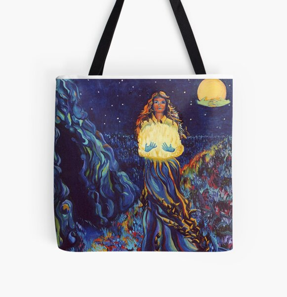 You are Stardust All Over Print Tote Bag