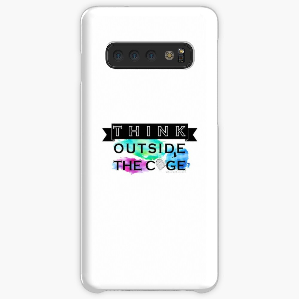 Think Outside the Cage - Colorful Case & Skin for Samsung Galaxy