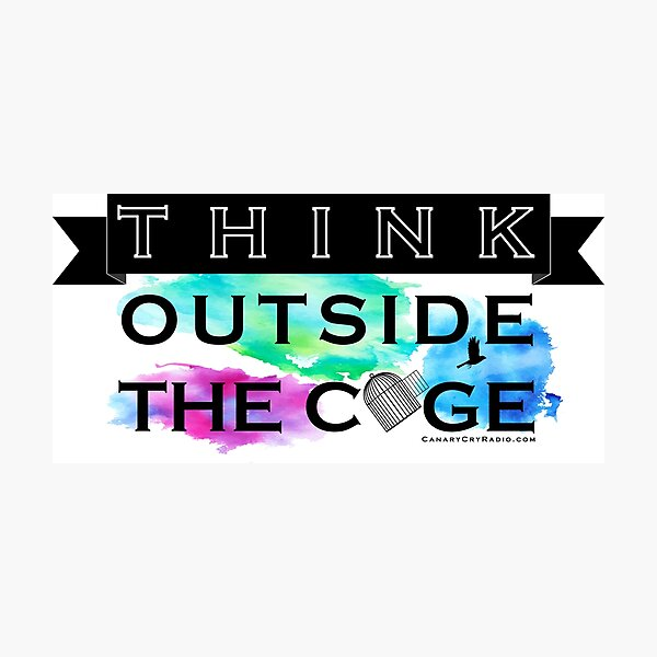 Think Outside the Cage - Colorful Photographic Print