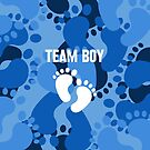 Team Boy - Gender Reveal by Wave Lords United