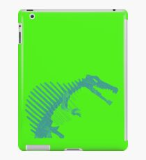 Dino Teal and Green iPad Case/Skin