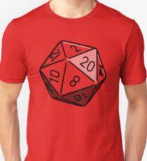 Simple D20 Unisex T-Shirt