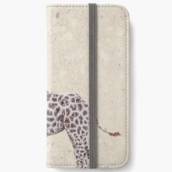 Christmas Giraffe iPhone Wallet