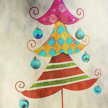 Funky Xmas Tree by DeniseAbe