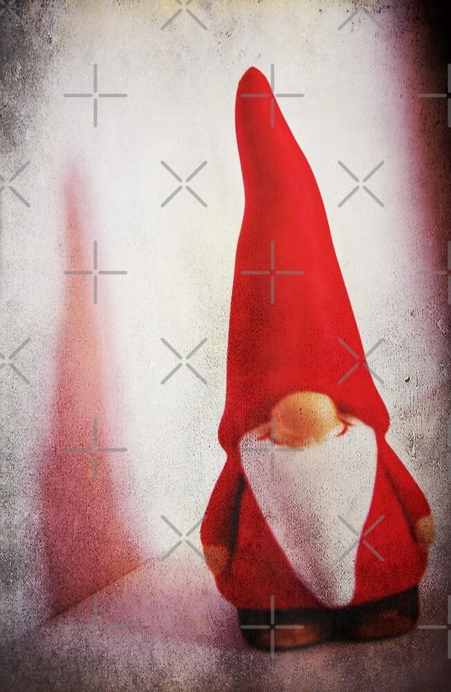 Santa Gnome by Denise Abé