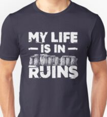 My Life Is In  Ruins Archeology Unisex T-Shirt