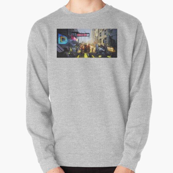 'Mech Racer' Pullover Sweatshirt