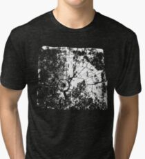 Cracked Wood Creature - Shee Texture / Pattern Tri-blend T-Shirt