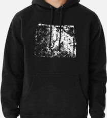 Cracked Wood Creature - Shee Texture / Pattern Pullover Hoodie