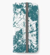 Cracked Wood Creature - Shee Texture / Pattern iPhone Wallet/Case/Skin
