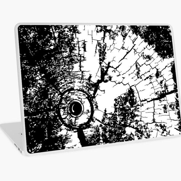 Cracked Wood Creature - Shee Texture / Pattern Laptop Skin