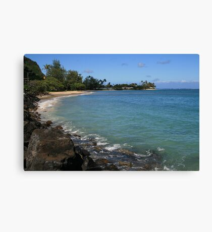 Water Cove Canvas Print