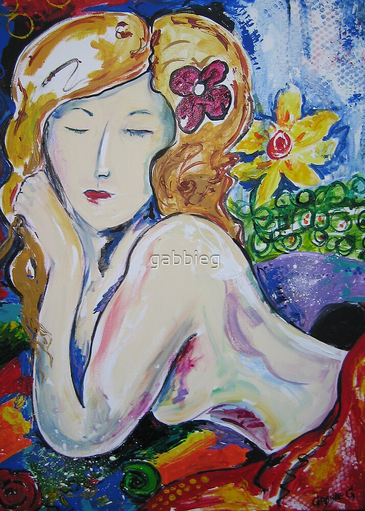 lady loving life by gabbieg