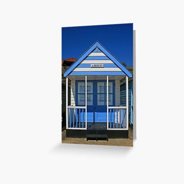 Mr Blue Sky Greeting Card
