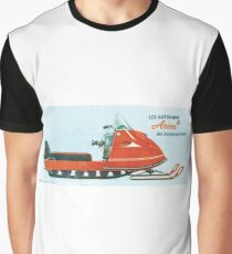 1970 Ariens Snowmobile Graphic T-Shirt