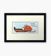 1970 Ariens Snowmobile Framed Print