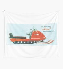 1970 Ariens Snowmobile Wall Tapestry