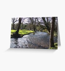 Blarney Castle - River Greeting Card