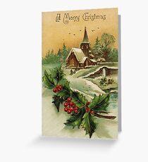 Christmas Village Greeting Card