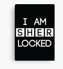 Sherlocked Canvas Print
