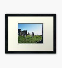 Clonmacnoise - on the Shannon River Framed Print