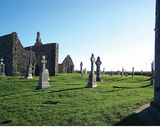 Clonmacnoise - on the Shannon River by shanmclean