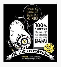 Glados potatoes Photographic Print