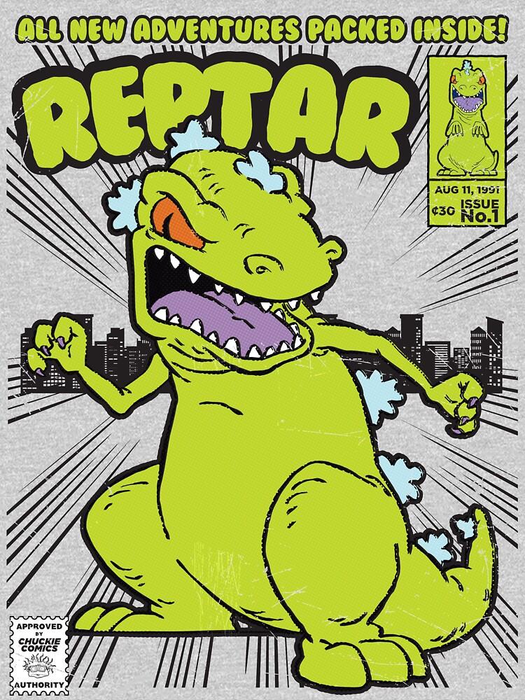 Reptar Comic Book by ToastMonsters