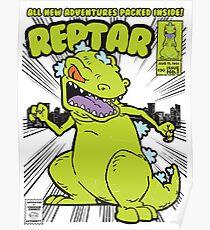 Reptar Comic Book Poster