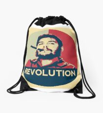 Che Guevara Hope Poster Drawstring Bag