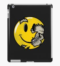 Smiley face skull iPad Case/Skin