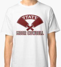 Camiseta clásica Joe Moorhead Moor Cowbell Granizo State Mississippi State Football