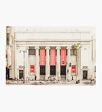 Jimmy Kimmel LIVE Studio Downtown Hollywood, California Photographic Print