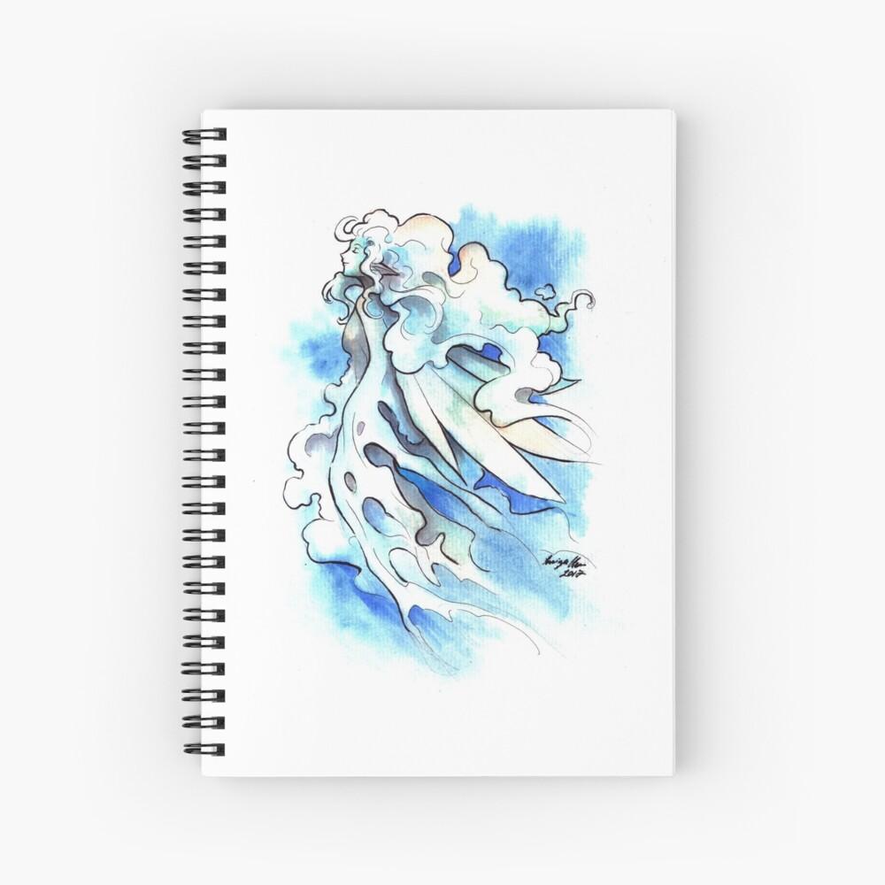 The Cloud Fairy Spiral Notebook