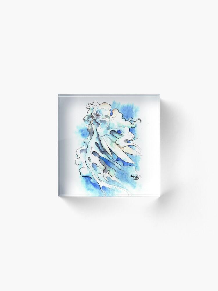 Alternate view of The Cloud Fairy Acrylic Block