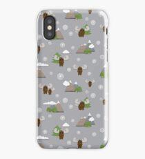 Scrapbook Moose iPhone Case/Skin