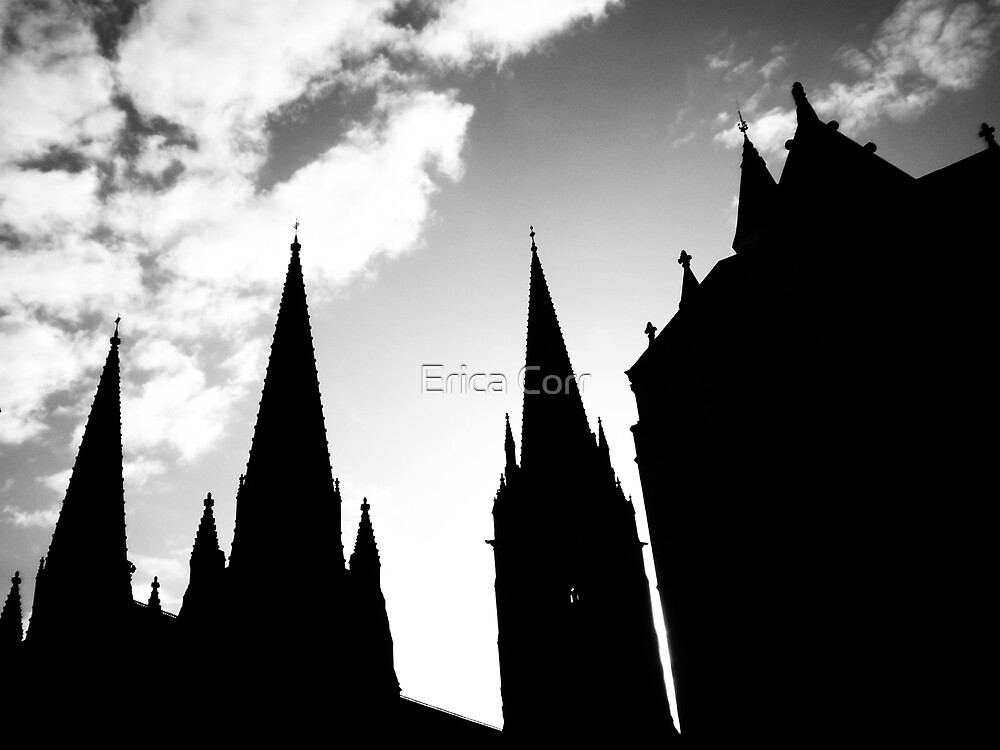 Steeples 2 by Erica Corr