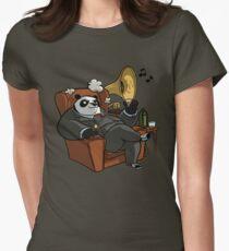 Panda Women's Fitted T-Shirt
