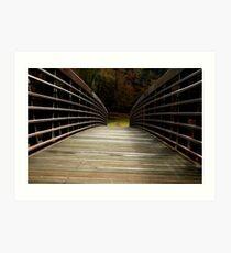 Bridge Over Damed Waters Art Print